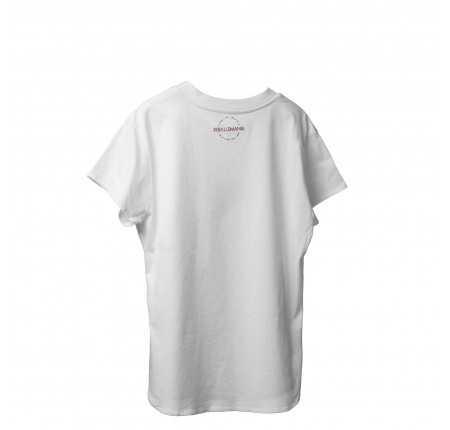 T-Shirt Ballsmania bianca