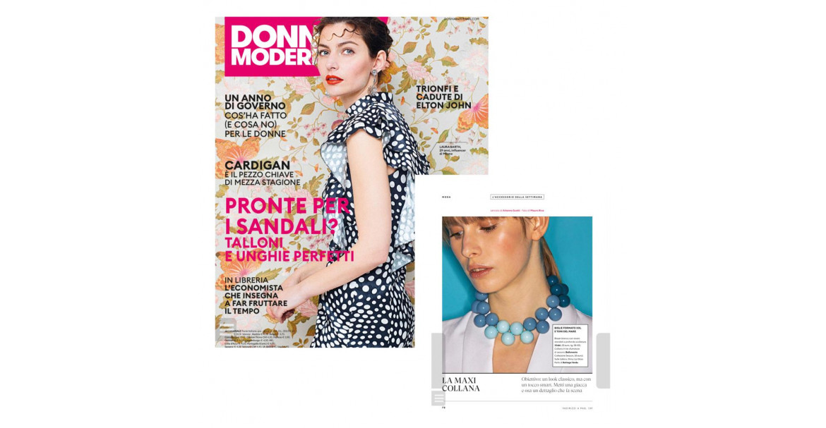 Donna Moderna 2019 con la Collana Season