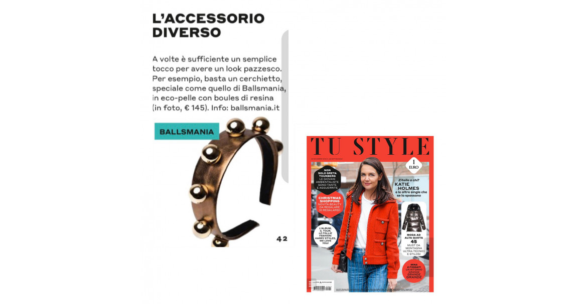 Cerchietto Luxury su TU Style