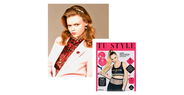 Collana Mirror: l'accessorio perfetto per le Feste è sull'editoriale di TU Style