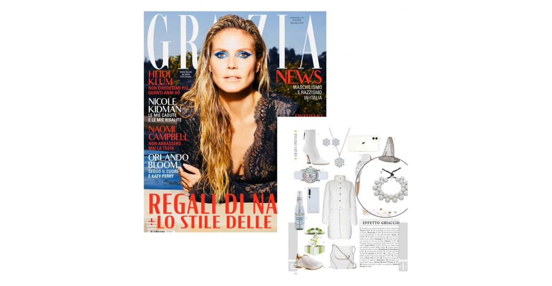 La collana Tinta Unita Ballsmania è sulla rivista di moda Grazia
