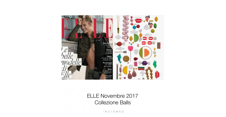 ELLE - DICEMBRE 2017