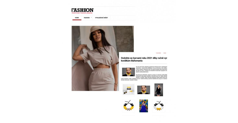 Fashion cv racconta i colori del pantone 2021 con le creazioni Ballsmania! | Press Ballsmania