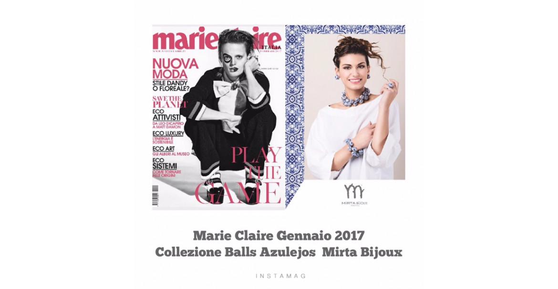 MARIE CLAIRE - GENNAIO 2017