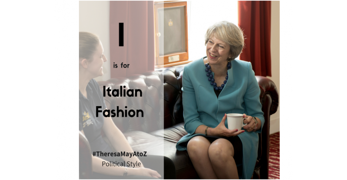 Theresa May Italian Fashion